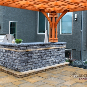 Outdoor Countertops - Landscape Design Gallery | B. Rocke Landscaping