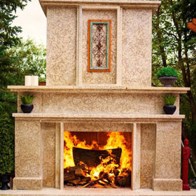 Fire Pits and Fireplaces - Landscape Design Gallery | B. Rocke Landscaping