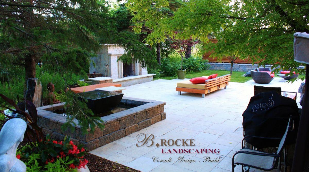 Backyard Oasis | B. Rocke Landscaping - Winnipeg, Manitoba