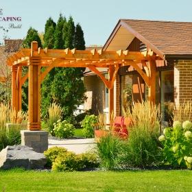 Commercial Sites - Landscape Design Gallery   B. Rocke Landscaping