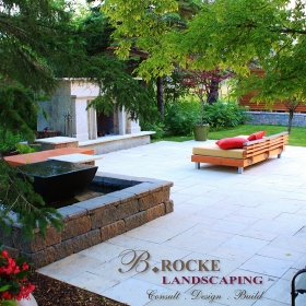 Waterfalls and Ponds - Landscape Design Gallery | B. Rocke Landscaping