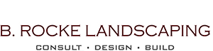 Logo | Consult | Design | Build | B. Rocke Landscaping | Winnipeg, Manitoba