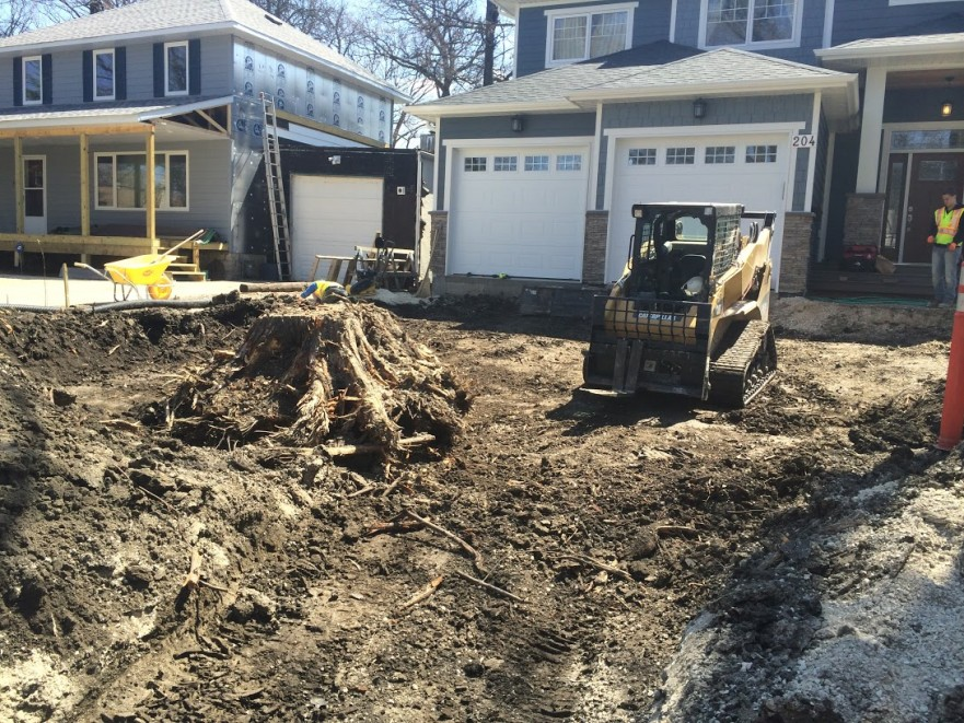 Driveway Excavation | B. Rocke Landscaping | Winnipeg, Manitoba