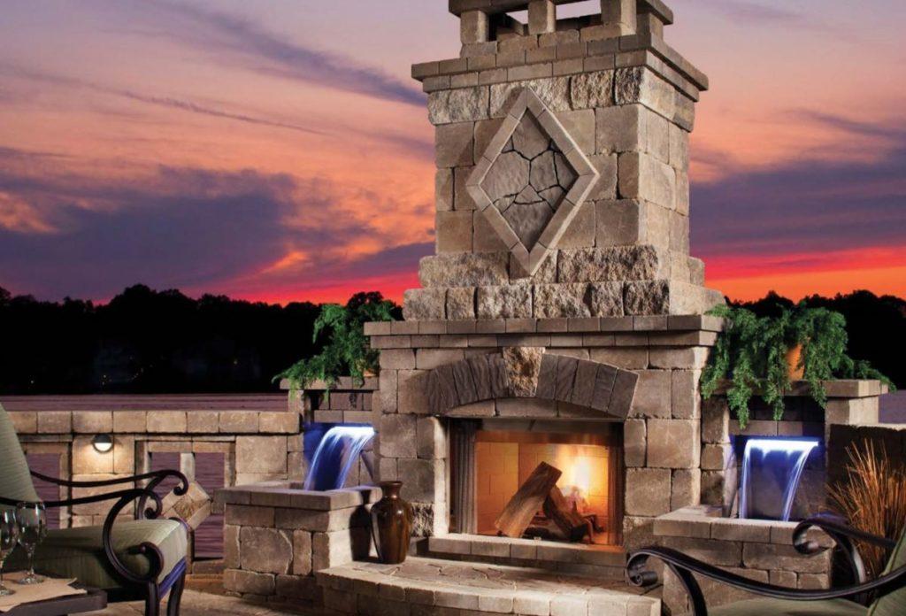 Expocrete Fireplace