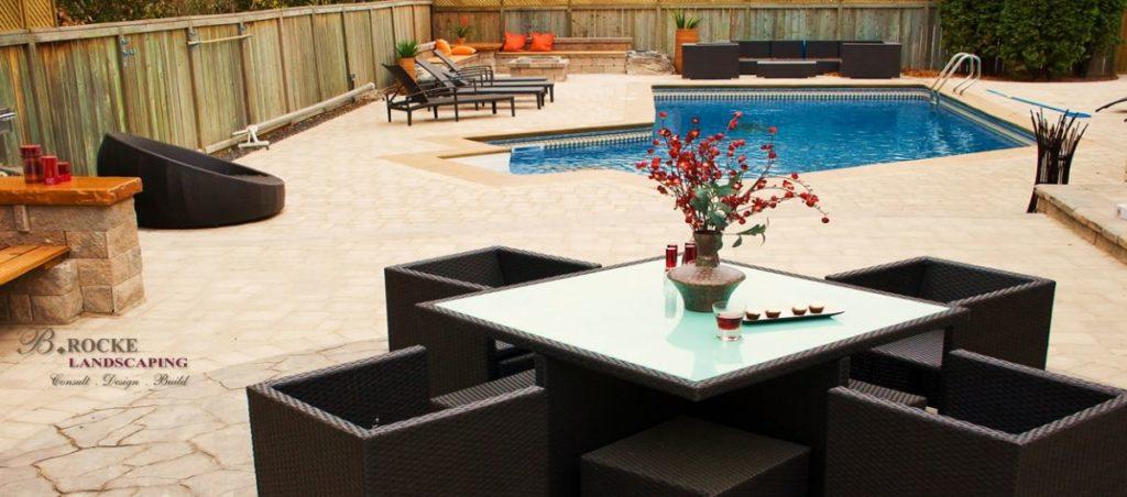Desert Buff Pool Deck