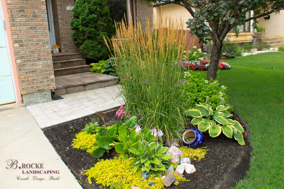 Annuals And Perennials B Rocke Landscaping
