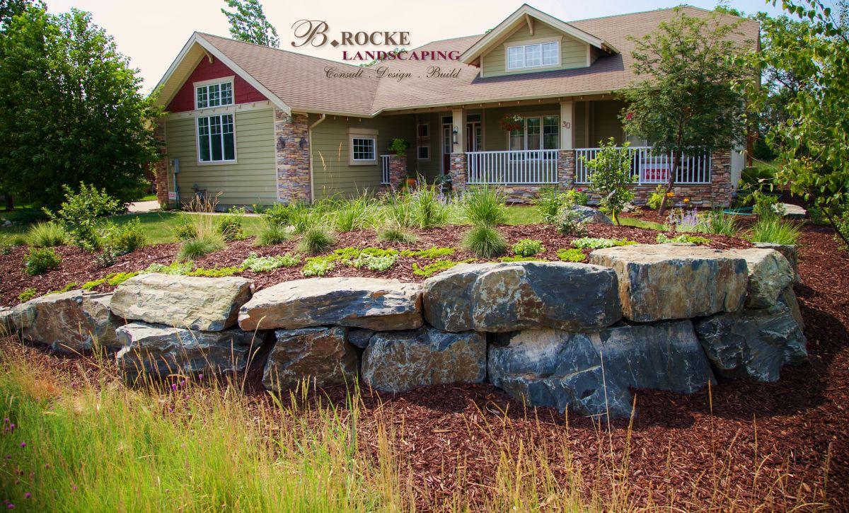 Boulders In Landscaping B Rocke Landscaping