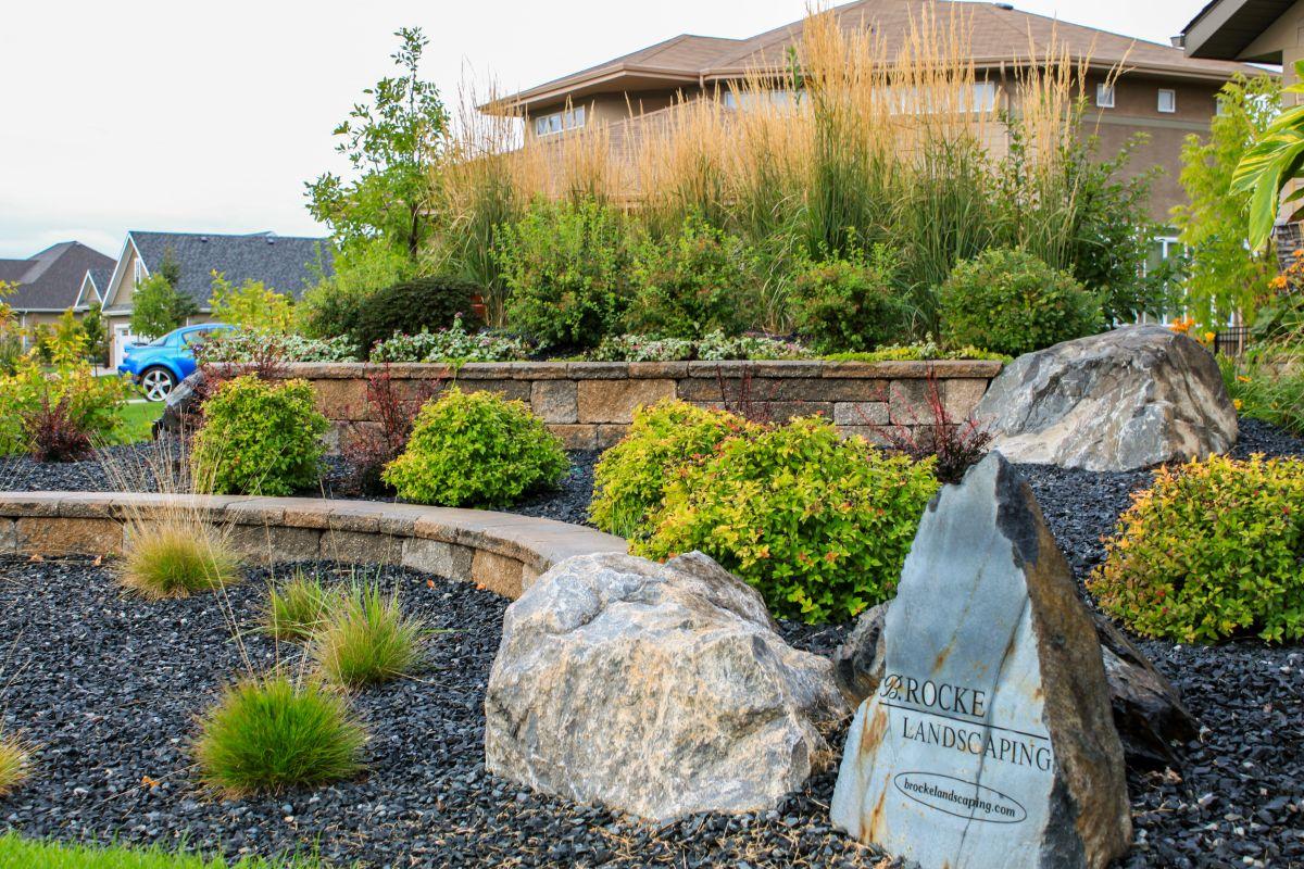 Prairie Home Plans Naturalized Landscapes B Rocke Landscaping