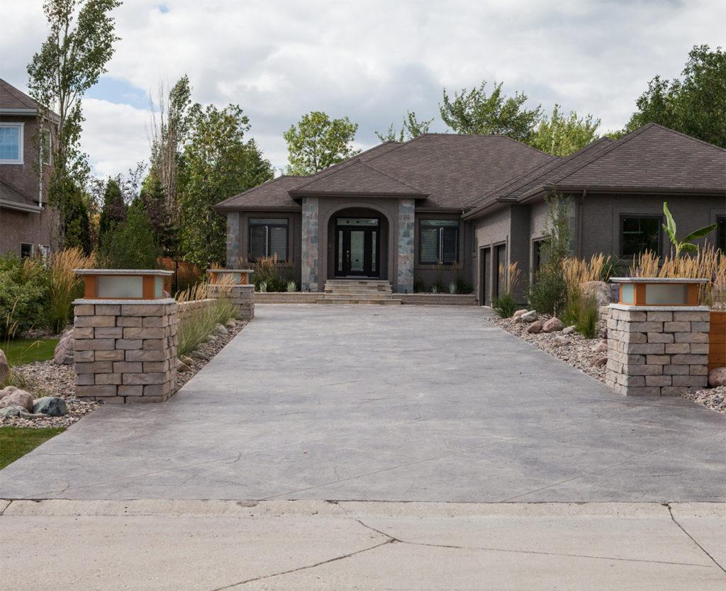 Concrete Driveway | B. Rocke Landscaping | Winnipeg, Manitoba