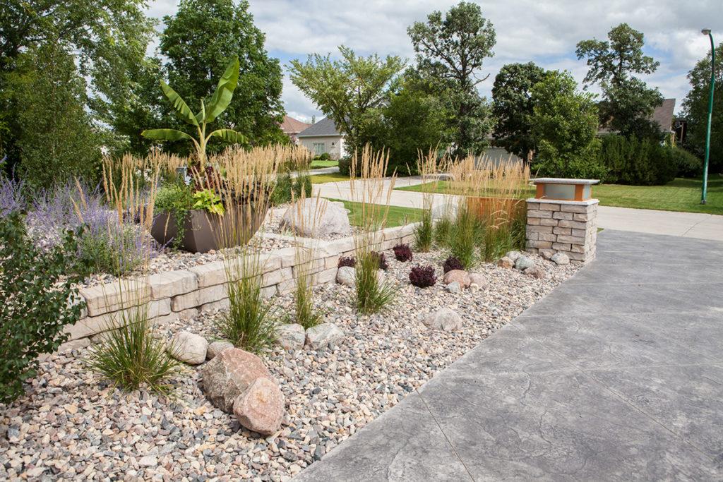 Rock Garden Prairie Grasses | B. Rocke Landscaping | Winnipeg, Manitoba