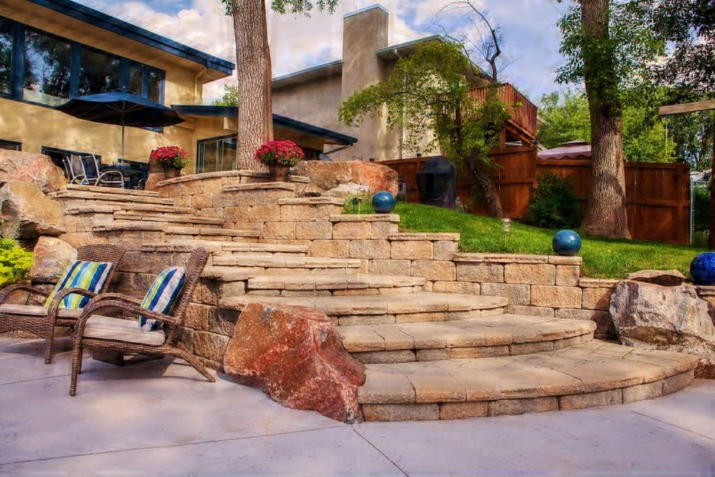 Grand Staircase | B. Rocke Landscaping | Winnipeg, Manitoba