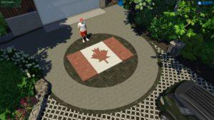 Canada Day Patio