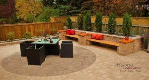 Patio | Furniture | Circle | B. Rocke Landscaping | Winnipeg, Manitoba