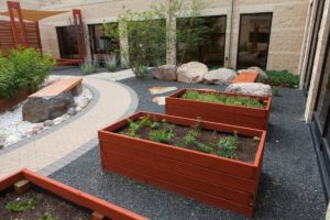 Veggie Planter | B. Rocke Landscaping | Winnipeg, Manitoba