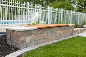 Bench Storage Closed | B. Rocke Landscaping | Winnipeg, Manitoba