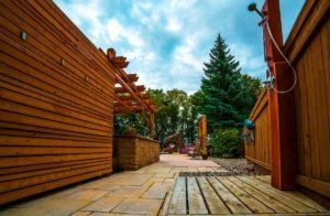Outdoor Shower | B. Rocke Landscaping | Winnipeg, Manitoba