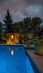 Privacy Screen | Pool Deck | B. Rocke Landscaping | Winnipeg, Manitoba