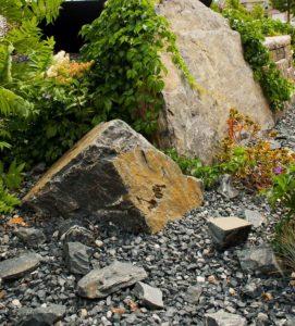 Boulder Decoration | Softscape | B. Rocke Landscaping | Winnipeg, Manitoba